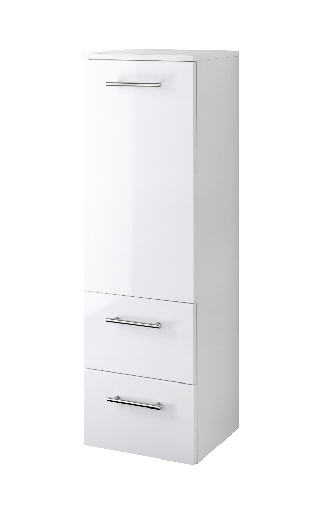 neu badezimmer midischrank blanco midi highboard badezimmerschrank 35 cm weiss ebay. Black Bedroom Furniture Sets. Home Design Ideas