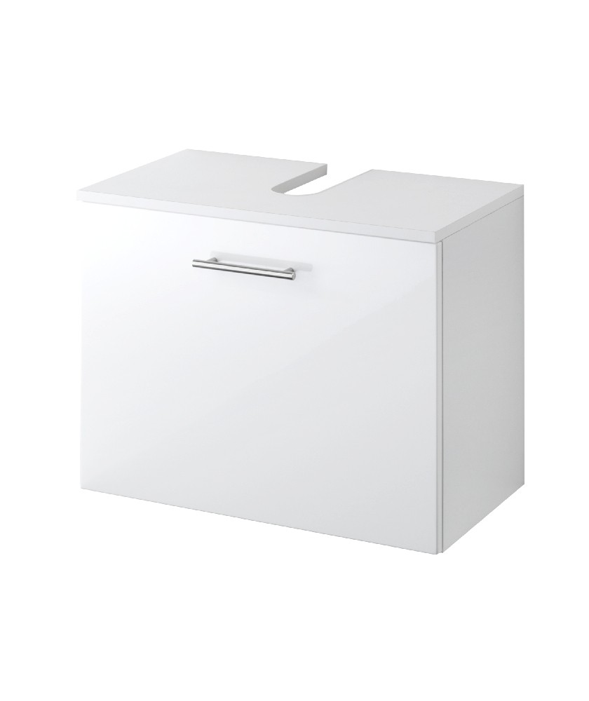 bad waschbeckenunterschrank blanco 1 auszug 60 cm. Black Bedroom Furniture Sets. Home Design Ideas