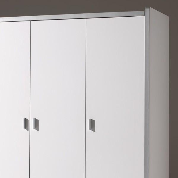 kleiderschrank bonny 3 t rig wei orange kinder jugendzimmer bonny. Black Bedroom Furniture Sets. Home Design Ideas