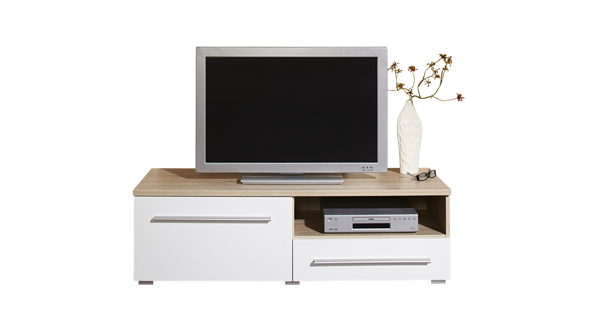 lowboard h ngend 120 cm interessante ideen. Black Bedroom Furniture Sets. Home Design Ideas