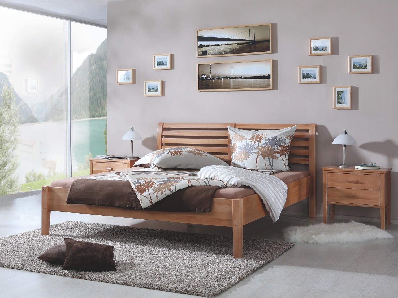 futonbett fati liegefl che 180 x 200 cm massivholz ge lte buche wohnen betten. Black Bedroom Furniture Sets. Home Design Ideas