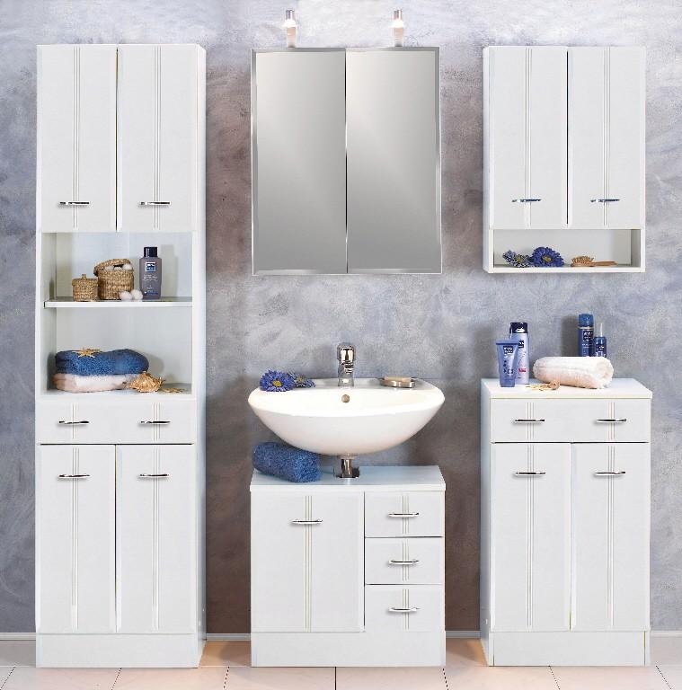 neu waschbeckenschrank arta waschbeckenunterschrank mit schubladen weiss. Black Bedroom Furniture Sets. Home Design Ideas