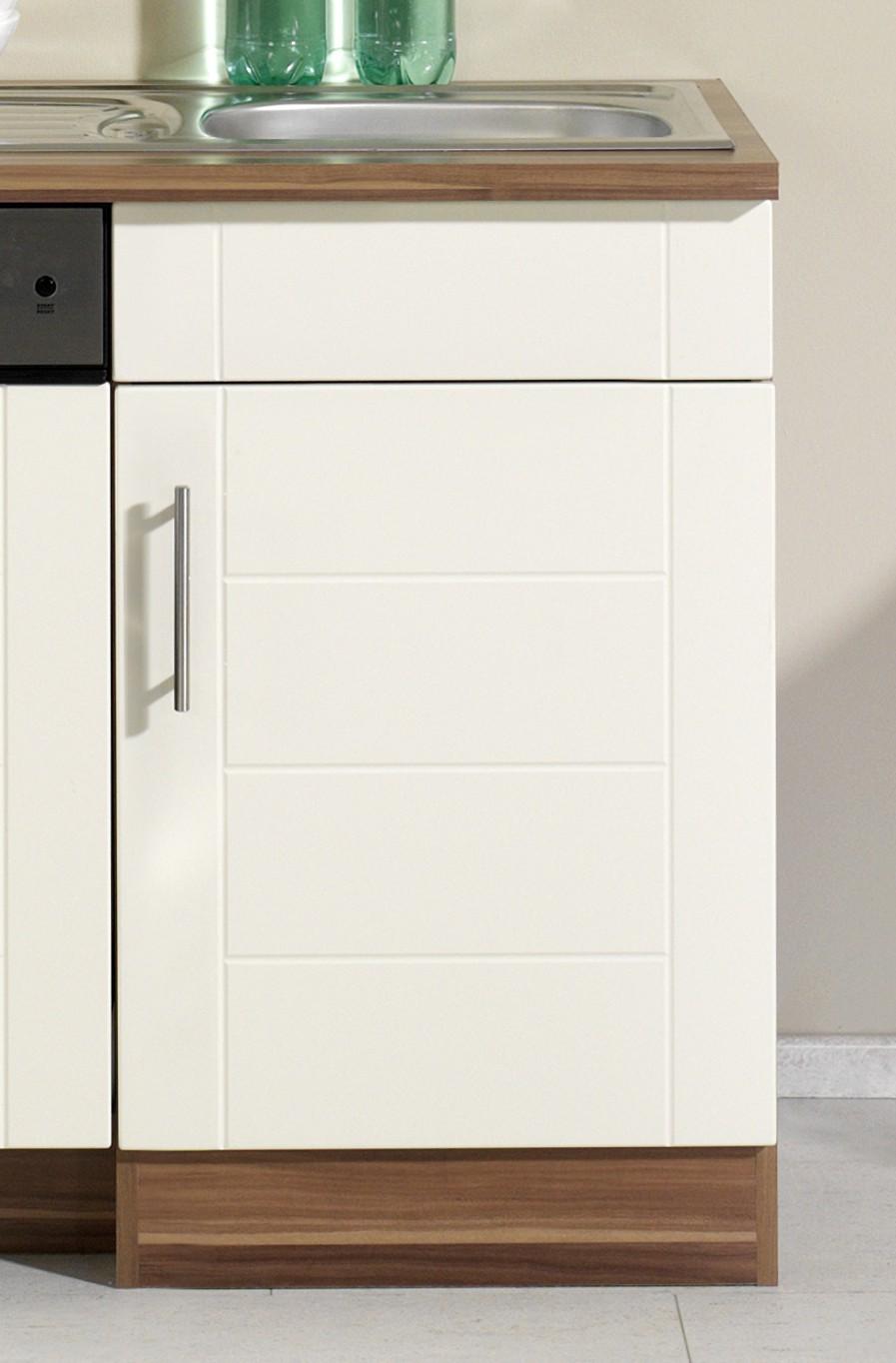 k chenzeile nevada k chen leerblock breite 220 cm hochglanz creme k che k chenzeilen. Black Bedroom Furniture Sets. Home Design Ideas
