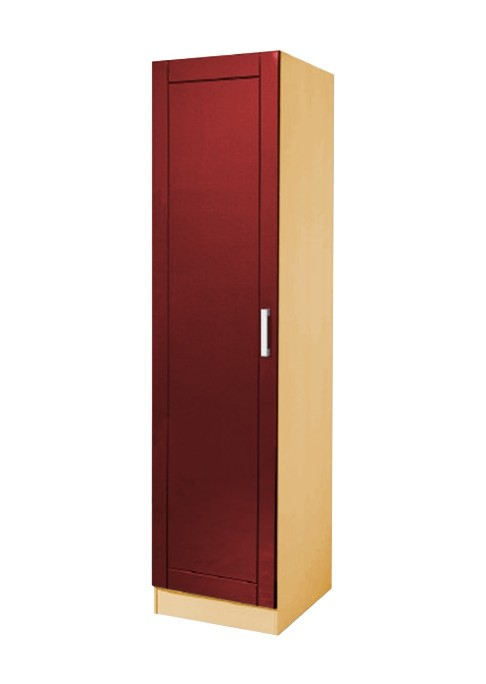 k chen hochschrank varel 1 t rig 50 cm breit hochglanz bordeaux rot k che varel rot. Black Bedroom Furniture Sets. Home Design Ideas