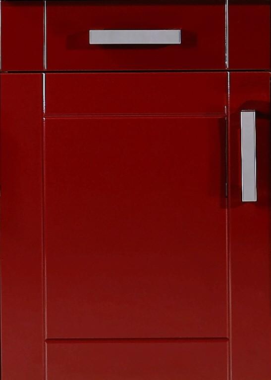 neu k chen unterschrank varel k chenschrank 50cm rot ebay. Black Bedroom Furniture Sets. Home Design Ideas