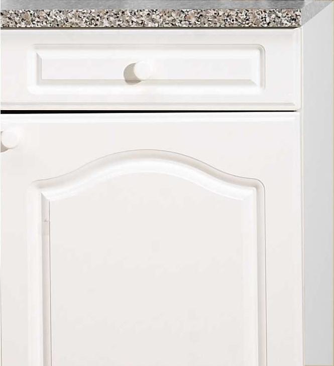 Küchen-Unterschrank LIST - 1-türig - 50 cm breit, 50 cm tief ... | {Küchenunterschrank 50}