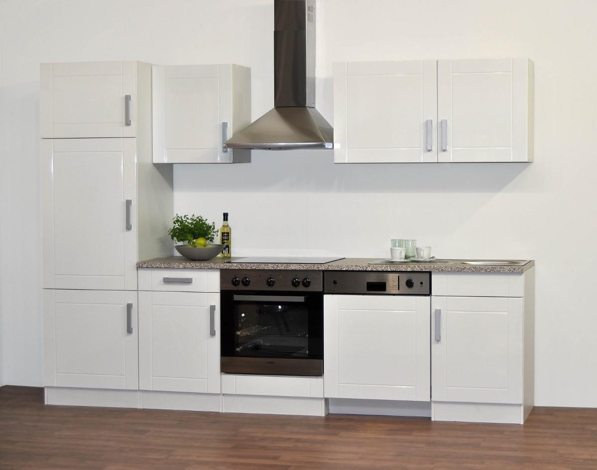 Küchen-Kurzhängeschrank VAREL - 1-türig - 60 cm breit - Hochglanz ...