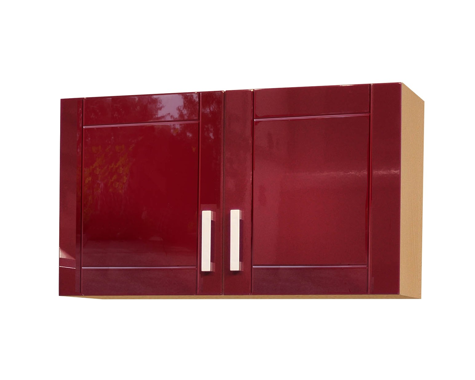 neu k chen h ngeschrank varel k chenschrank oberschrank 100cm rot. Black Bedroom Furniture Sets. Home Design Ideas