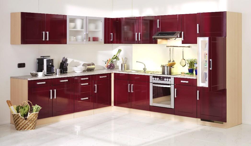 Küchen-Hängeschrank VAREL - 1-türig - 60 cm breit - Hochglanz ...