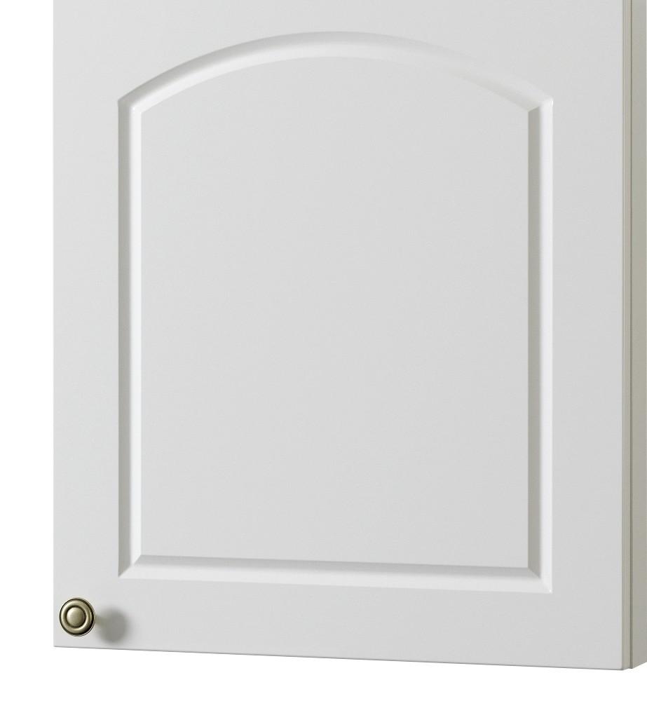 k chen h ngeschrank boston 1 t rig 50 cm breit hochglanz wei k che boston weiss. Black Bedroom Furniture Sets. Home Design Ideas