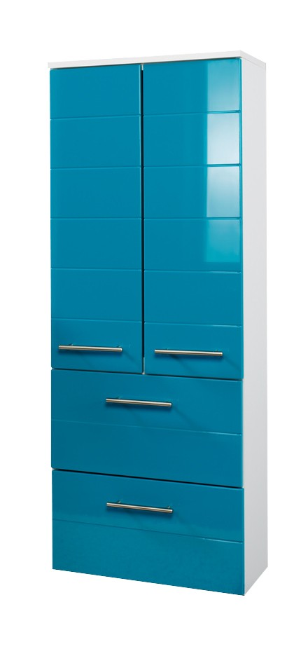 bad midischrank rimini 2 t rig 2 schubladen 50 cm. Black Bedroom Furniture Sets. Home Design Ideas