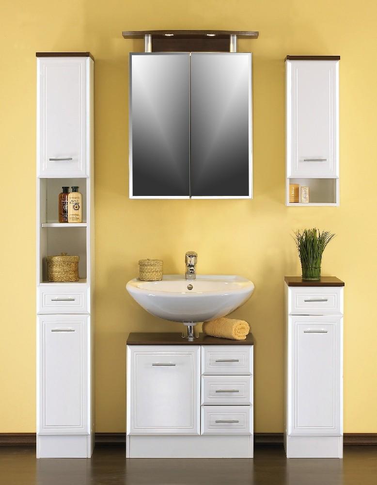 bad hochschrank neapel 2 t rig 1 schublade 25 cm breit hochglanz wei wenge bad neapel. Black Bedroom Furniture Sets. Home Design Ideas