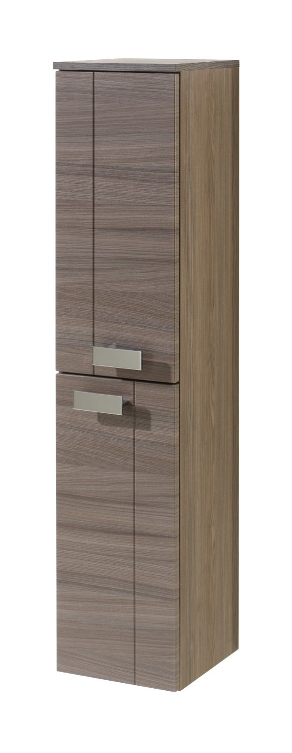 neu badezimmer midischrank move midi highboard mit 2 t ren eichedunkel ebay. Black Bedroom Furniture Sets. Home Design Ideas