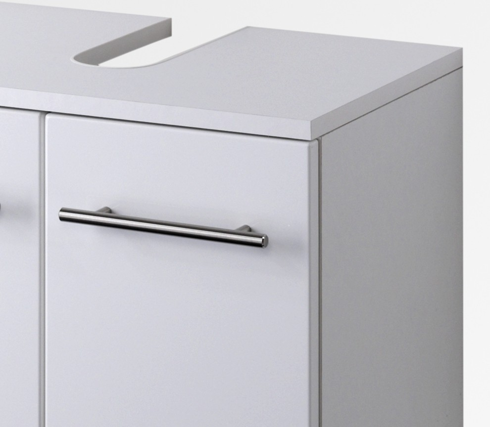 bad waschbeckenunterschrank small 2 t rig 50 cm breit hochglanz wei bad small. Black Bedroom Furniture Sets. Home Design Ideas