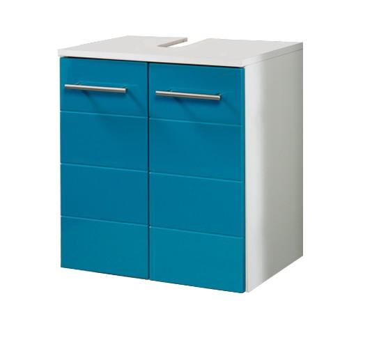 neu badezimmer waschbeckenschrank rimini waschbeckenunterschrank t rkis ebay. Black Bedroom Furniture Sets. Home Design Ideas