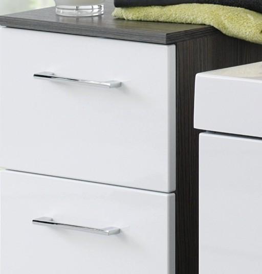Waschbeckenunterschrank Weiß Gunstig : NEU! Badezimmer Unterschrank ARTA Badschrank Badezimmerschrank 25 cm
